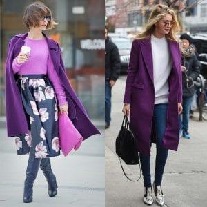 Cómo combinar el color ultra violeta