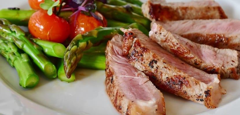 plato de carne