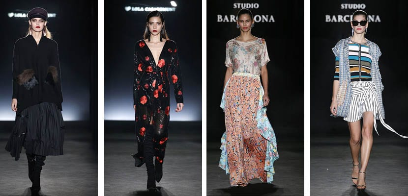 080 Barcelona Fashion: Lola Casademunt y Escorpion