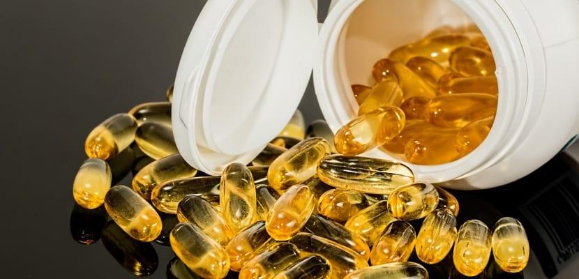 cápsulas de aceite omega 3