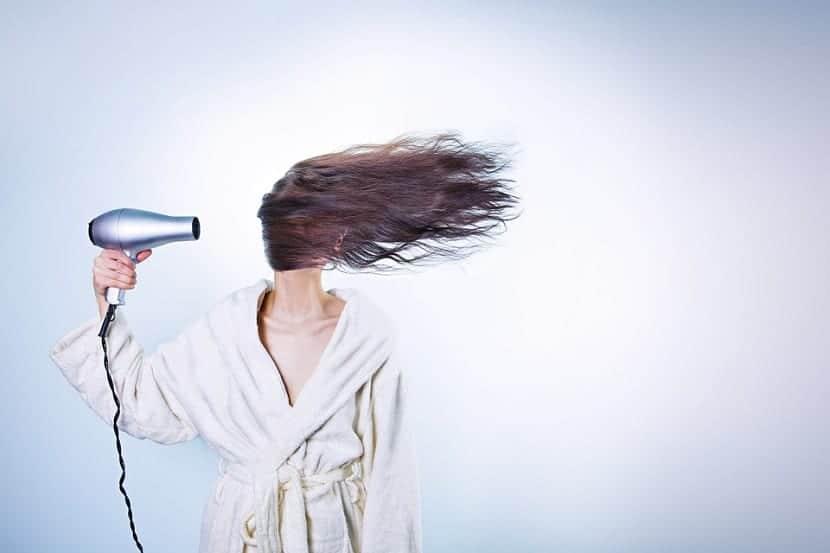 Calor en el cabello