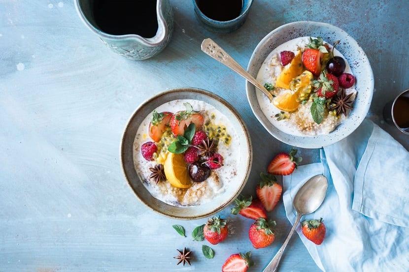 Desayunos rápidos saludables