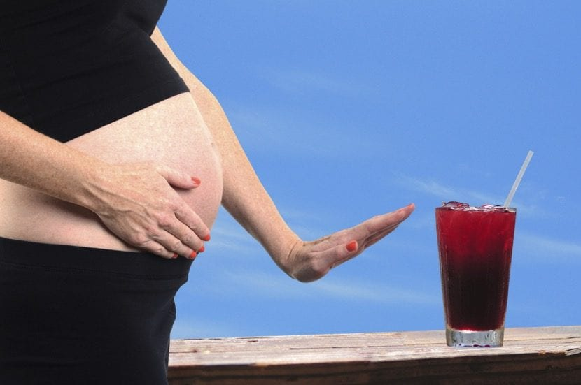 no beber alcohol en el embarazo