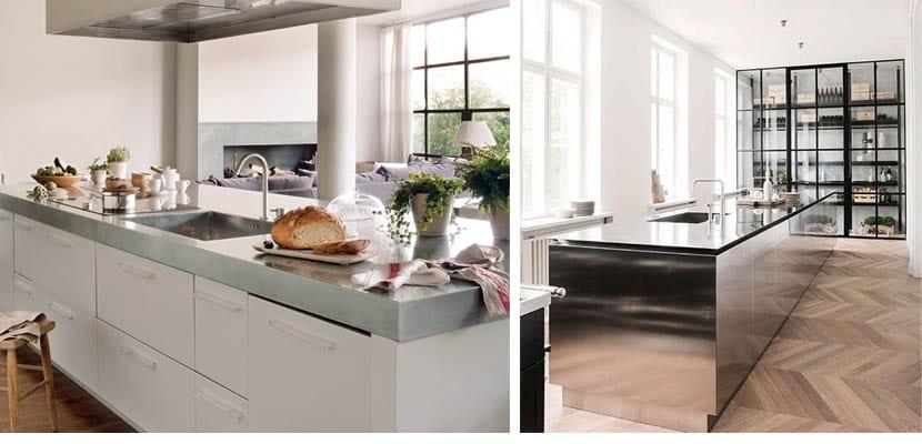 encimeras de cocina de inoxidable - Encimeras De Cocina Aglomerado