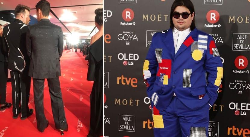 Looks originales en los Premios Goya