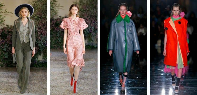 Milan Fashion Week; Luisa Beccaria y Prada