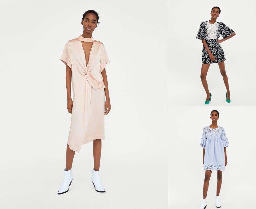 Vestidos primavera de Zara
