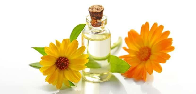 aceite de flores