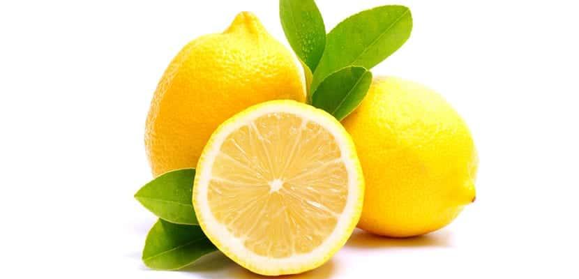 Limones para el cabello
