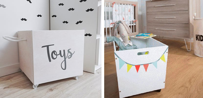 Ideas de almacenaje para juguetes - Cajas para almacenar juguetes ...