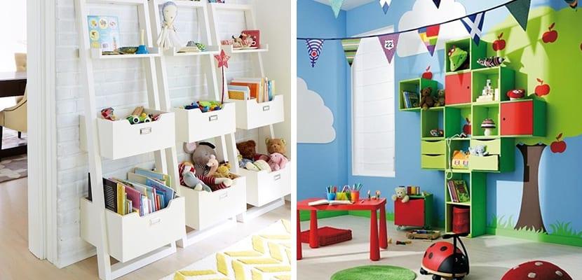 Ideas de almacenaje para juguetes - Estanterias guardar juguetes ...