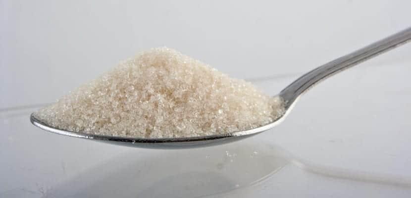 azúcar amarillento