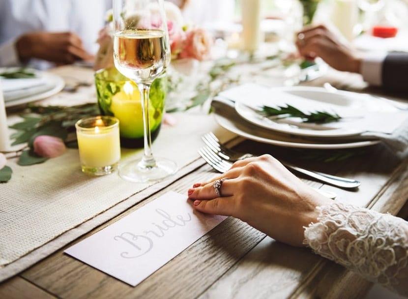 Cómo ahorrar en el banquete de boda