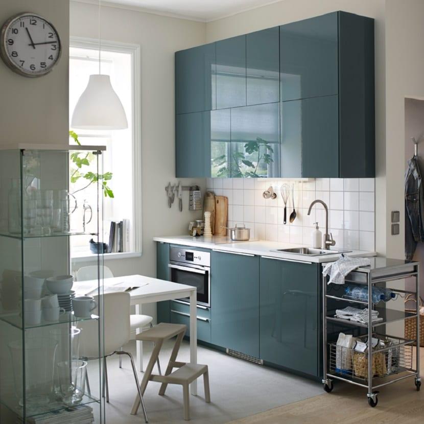 Cocina de Ikea pequeña