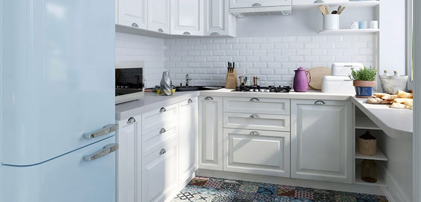 las cocinas clsicas que vemos en color blanco suelen ser espacios renovados en general los muebles solan tener el tono de la madera pero hoy en da se - Cocinas Clasicas Blancas
