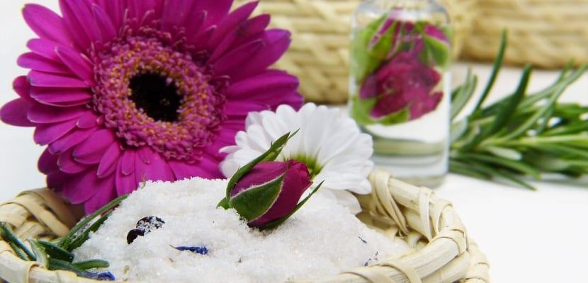 aceite esencial de flores