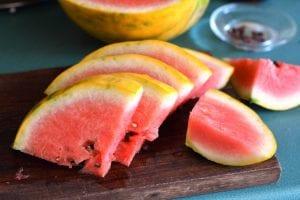 Frutas saludables por la noche