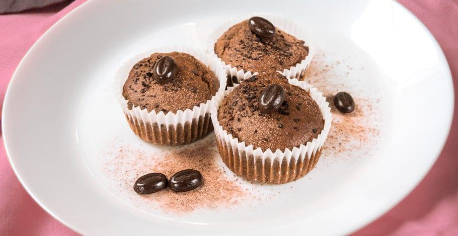 Magdalenas de café y chocolate