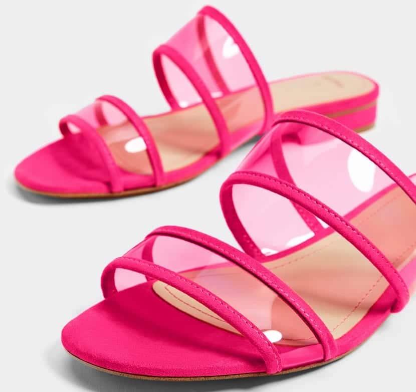 Sandalias de moda en Bershka