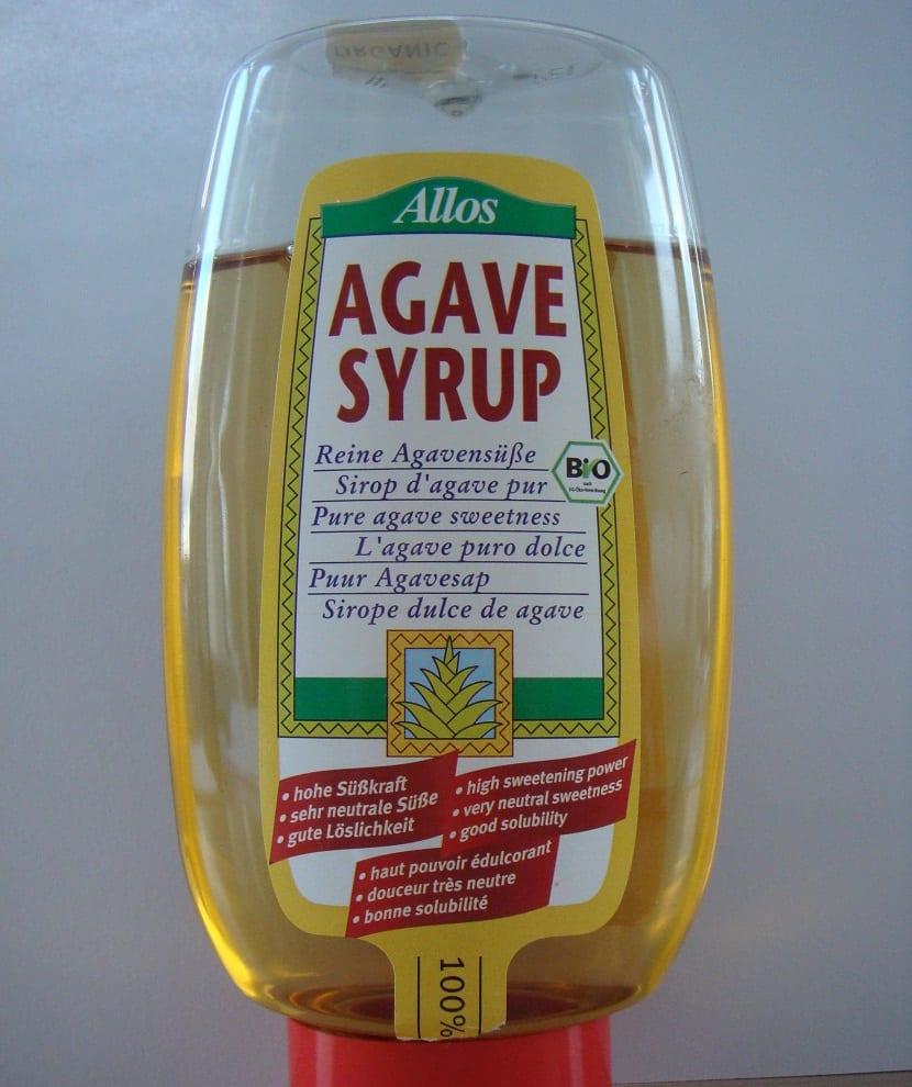 Sirope agave alternativa al azúcar