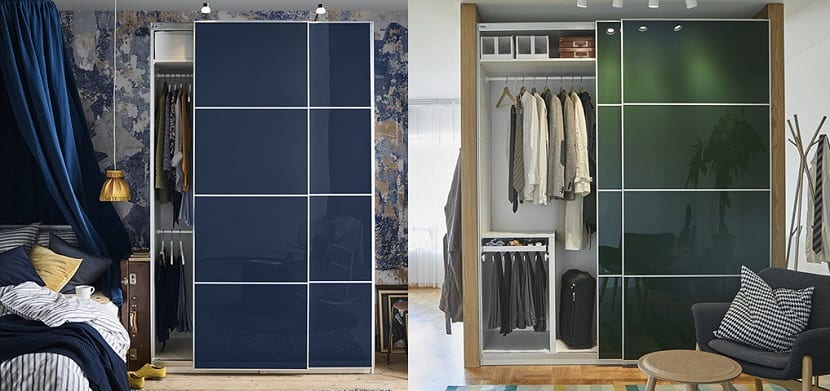 Armarios con puertas correderas de Ikea