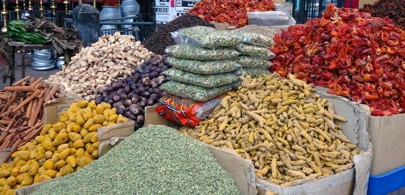 mercado de especias