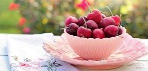 cuenco de cerezas