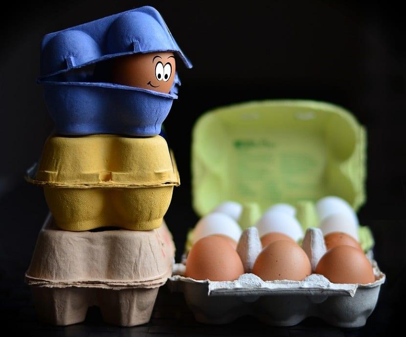 Champú con huevo