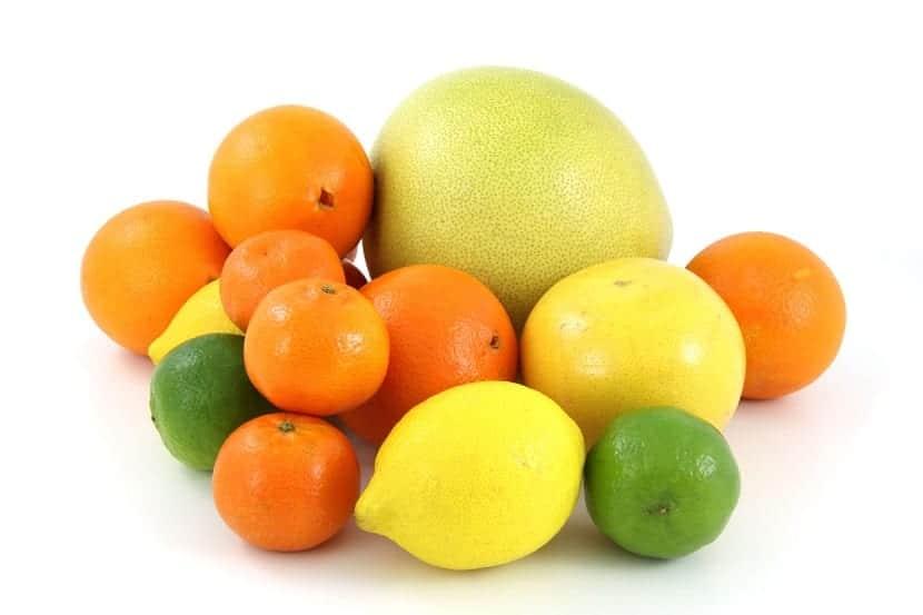 Alimentos cítricos para broncearse