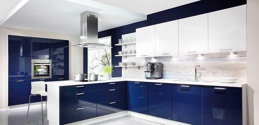 Inspiraci n para el hogar cocinas modernas for Cocina moderna de color