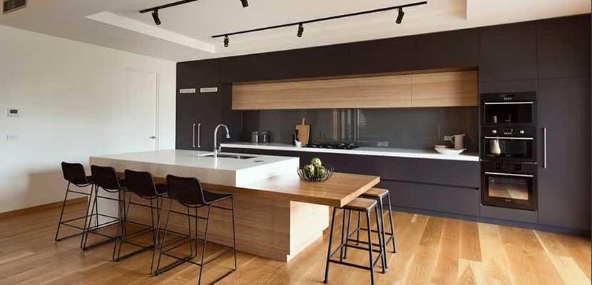Inspiraci n para el hogar cocinas modernas for Cocinas comedor con islas modernas