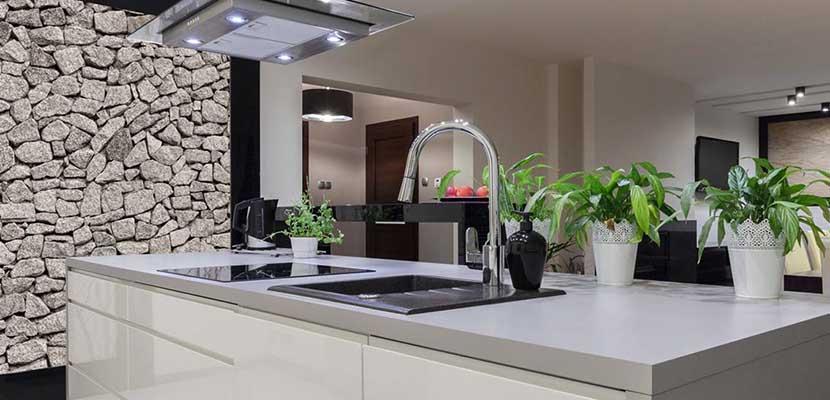 Inspiraci n para el hogar cocinas modernas for Guardas para cocina modernas