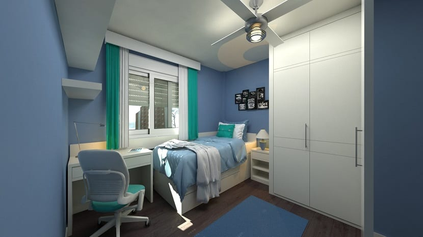 Colores para las paredes del dormitorio