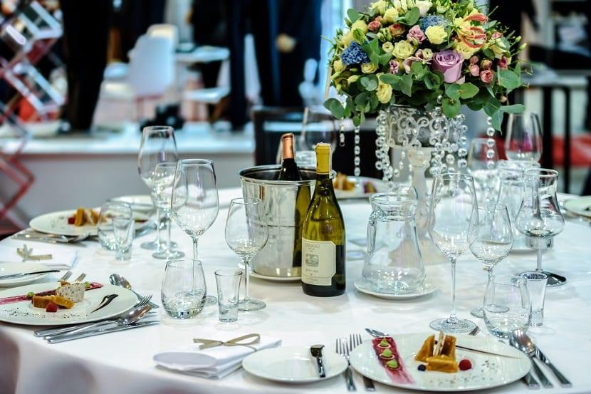 Distribución de las mesas de boda
