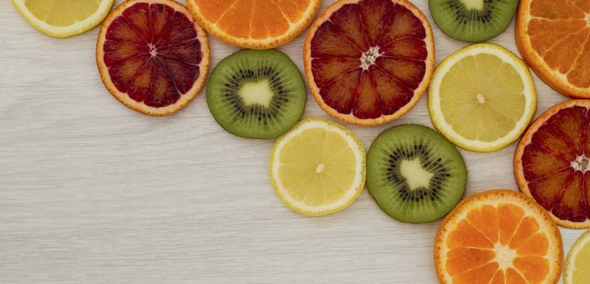rodajas de fruta