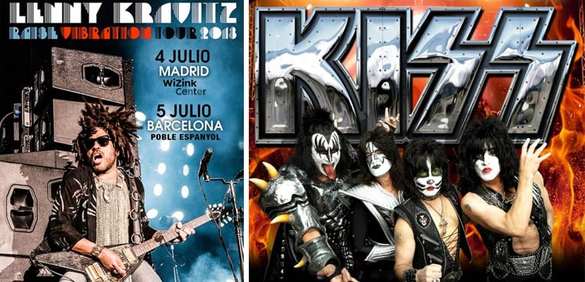 Gira Lenny Kravitz y KISS