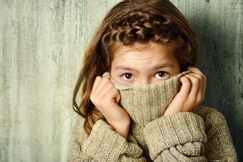 nena con estrés postraumático