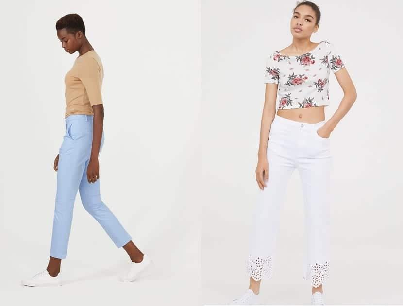 Pantalones tobilleros H&M
