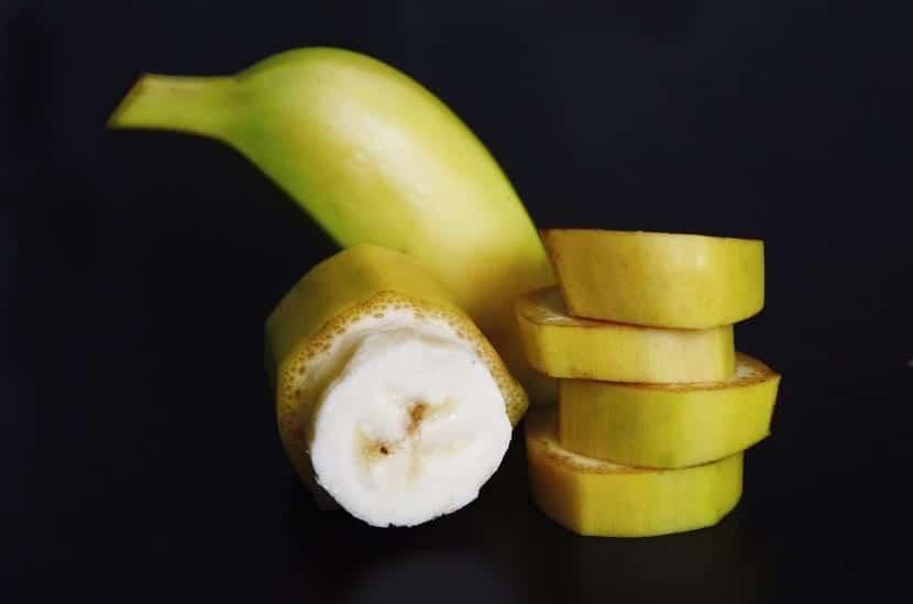 Plátano para el pelo