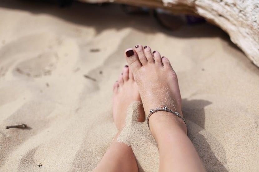 Eliminar durezas en los pies