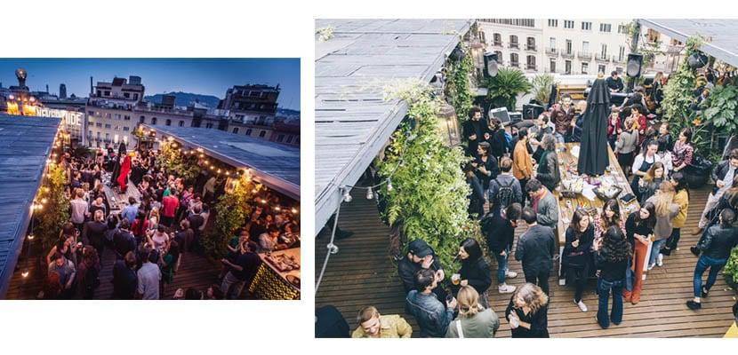 La terraza del Pulitzer, Barcelona