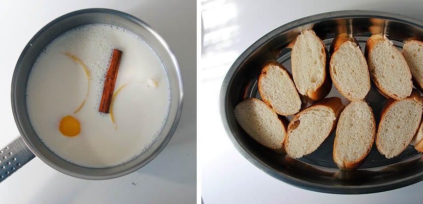 Torrijas de leche condensada