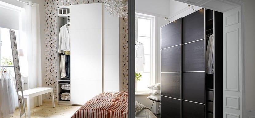 Ventajas de armarios con puertas correderas