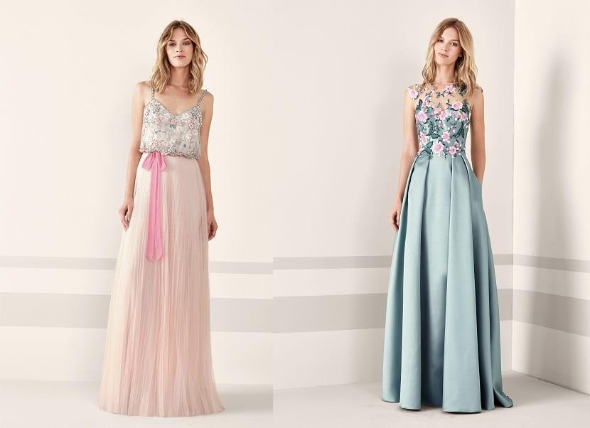 Vestidos de novia civil de noche