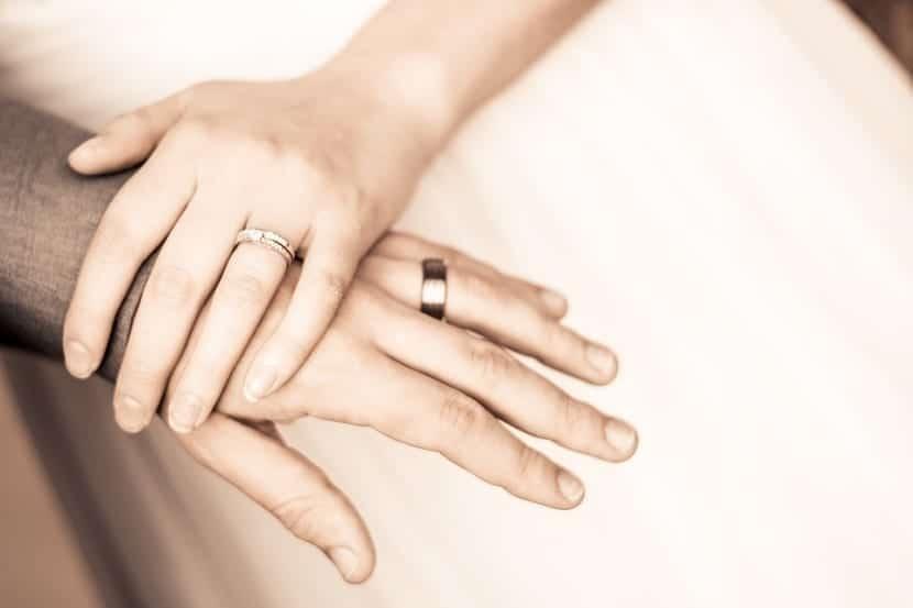 El anillo de boda