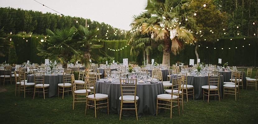 Banquetes en el exterior