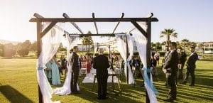 Pérgolas para bodas