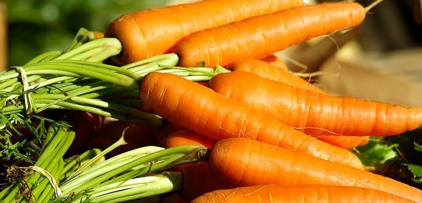 Zanahorias para la piel