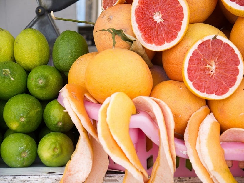 Alimentos cítricos