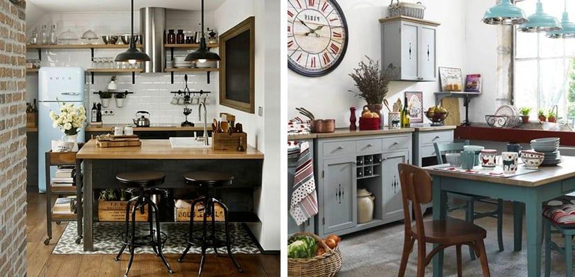 Cocinas en estilo industrial